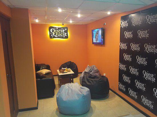 Фото к новости Новое дополнение квест-комнаты – лаунж зона