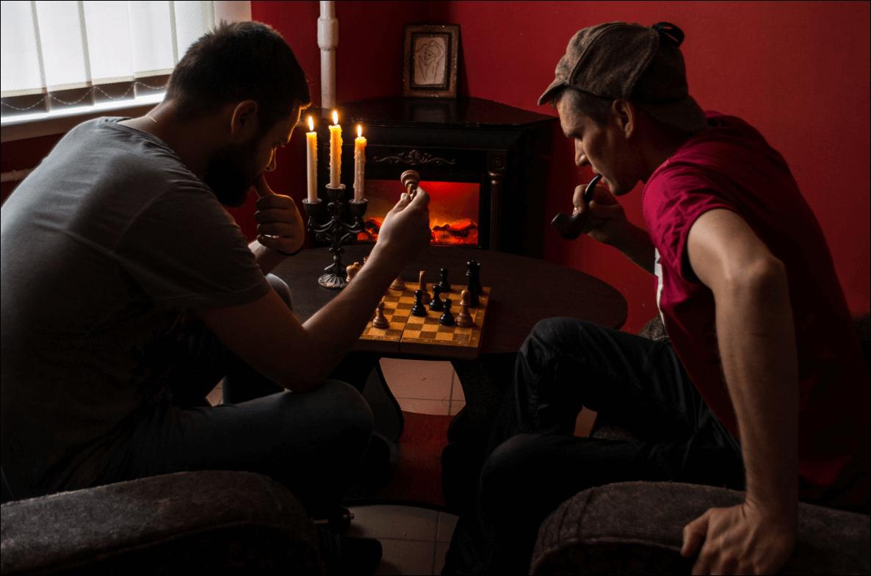 1 Фото квест комнаты Шерлок холмс 19 века в городе Харьков