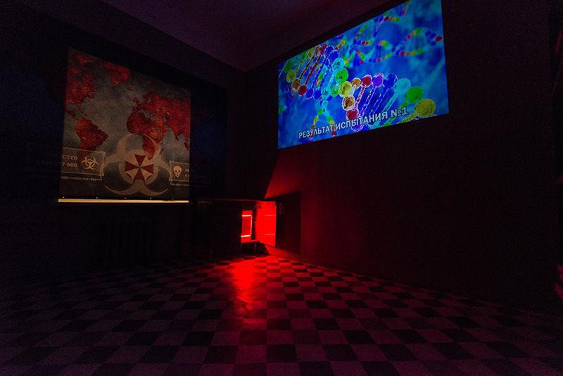 Картинка квест кімнати Resident Evil в городе Київ