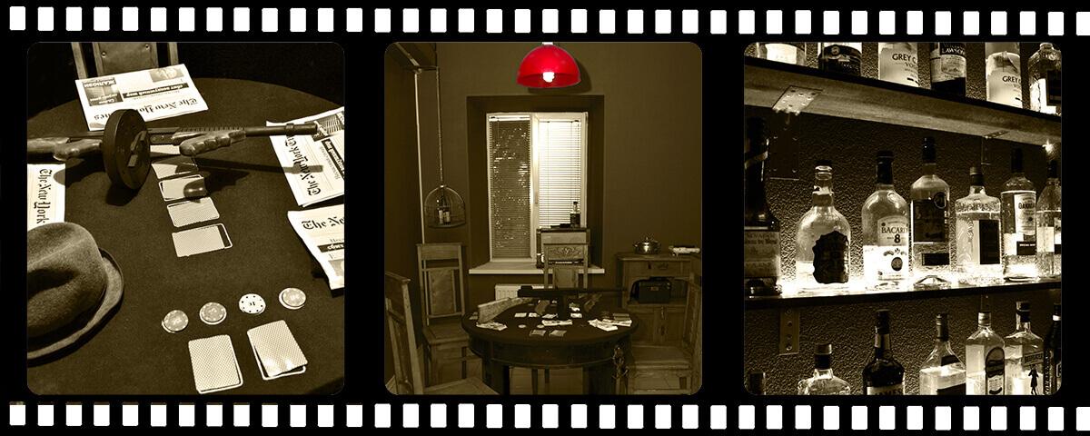 2 Фото квест комнаты Мафия в городе Харьков