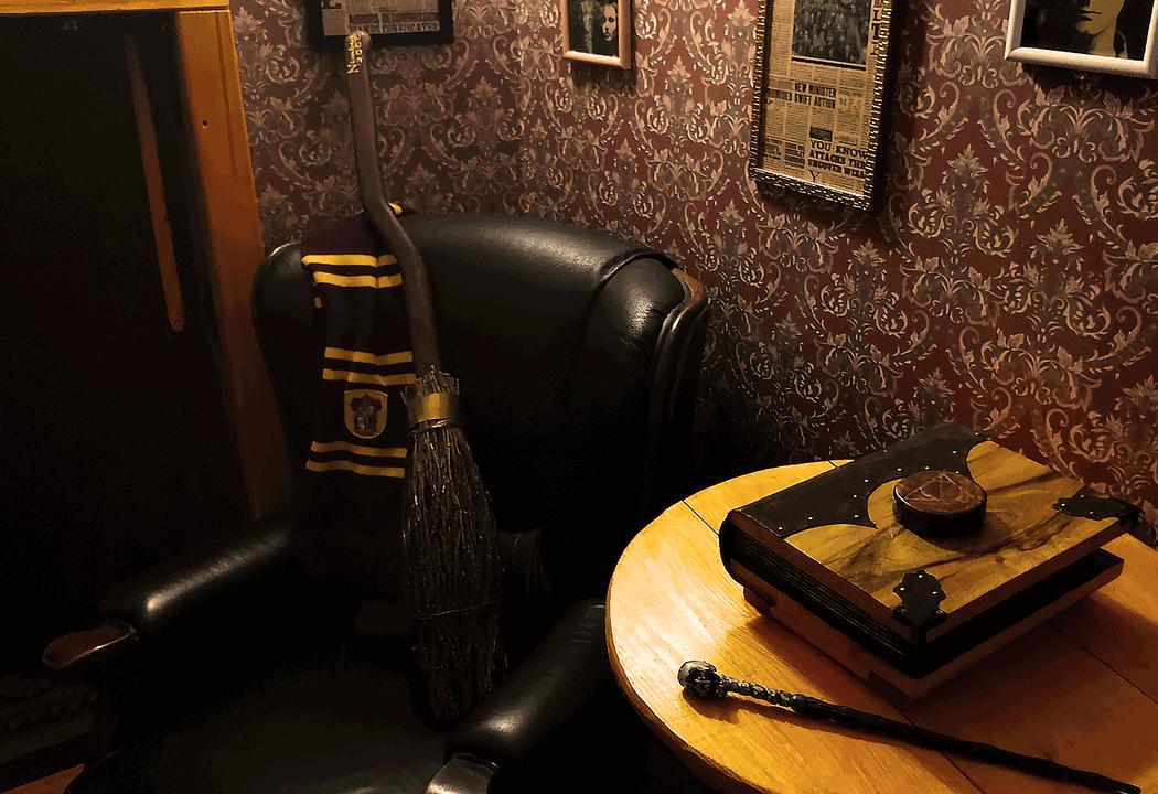 Фото квест кімнати Гаррі Поттер: Подорож в Неверленд в місті Київ