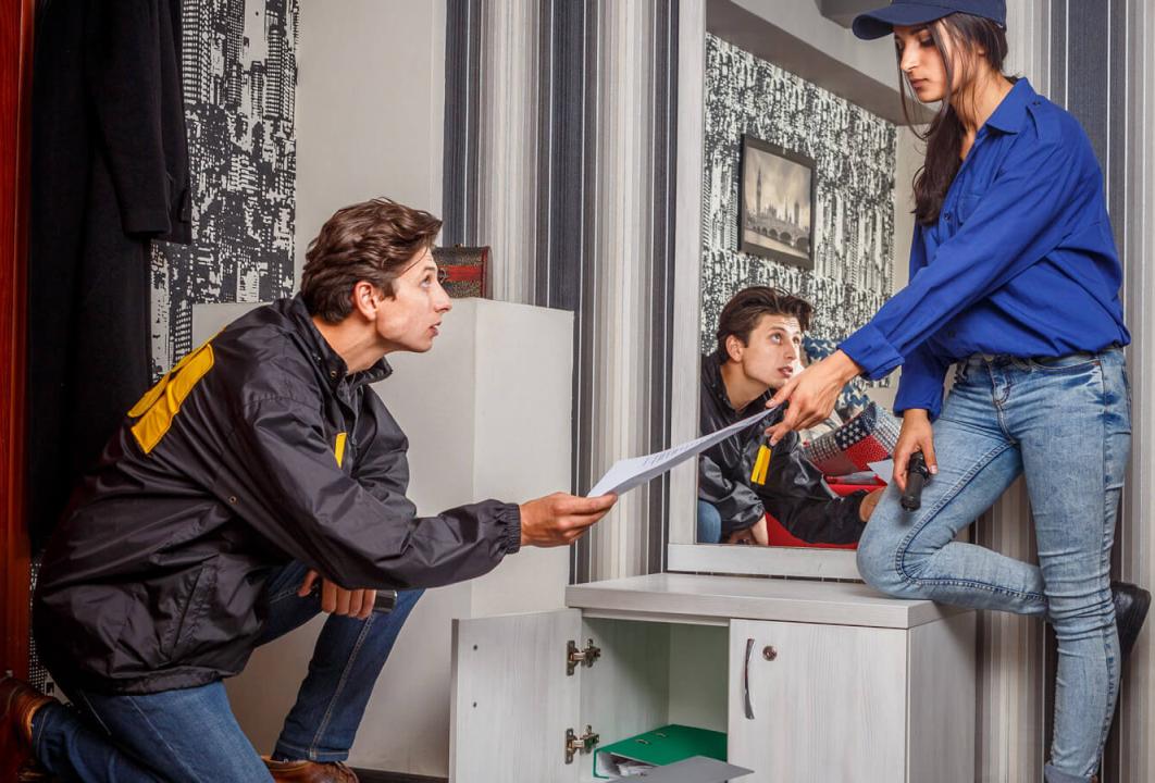 1 Фото квест комнаты ФБР 2.0: академия убийства в городе Киев