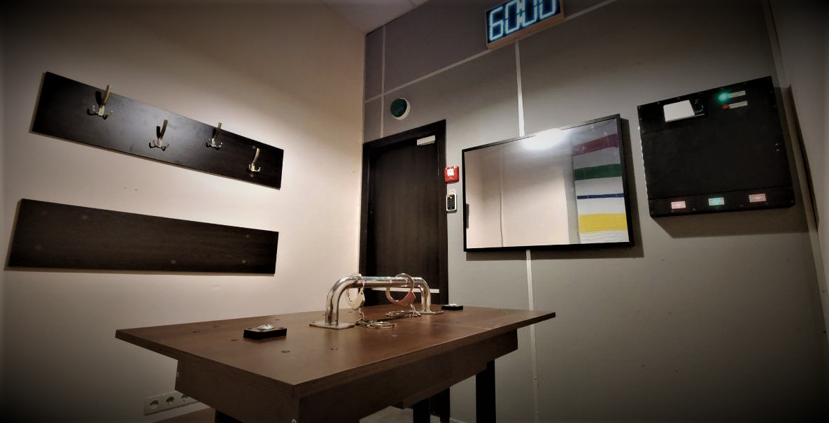 Картинка квест кімнати Кімната допиту 24 в городе Київ