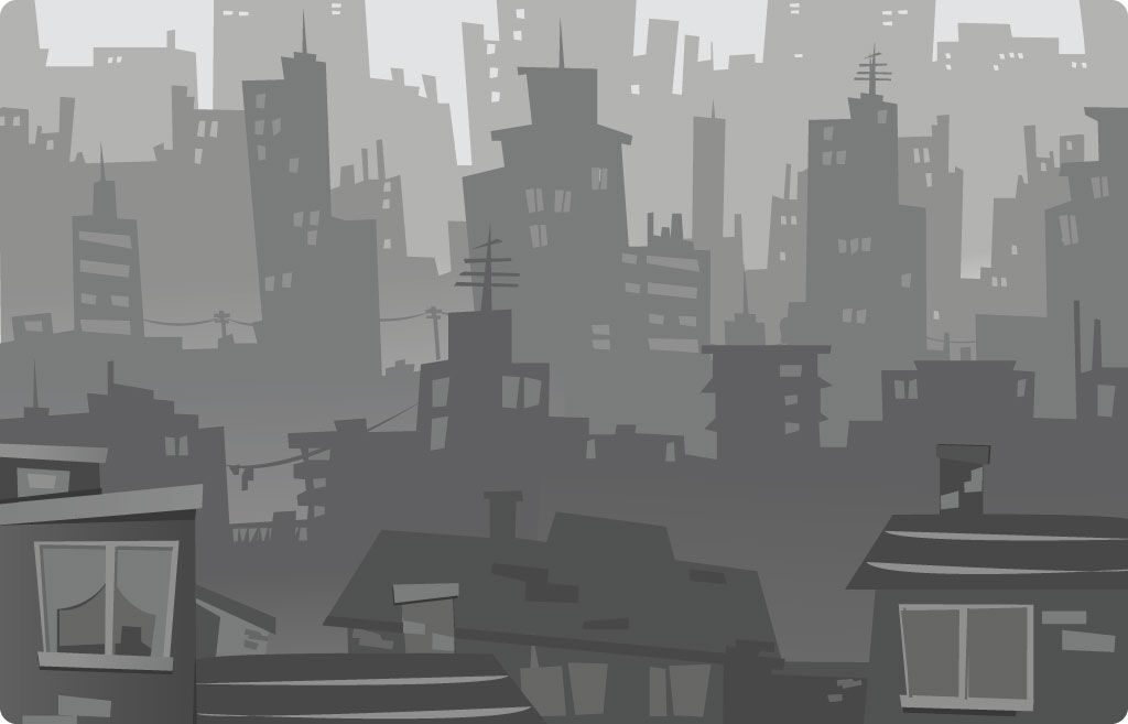Картинка квест комнаты Город без солнца в городе Львов