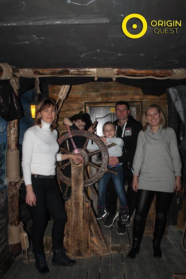 1 Фото квест комнаты Пираты Карибского моря в городе Запорожье