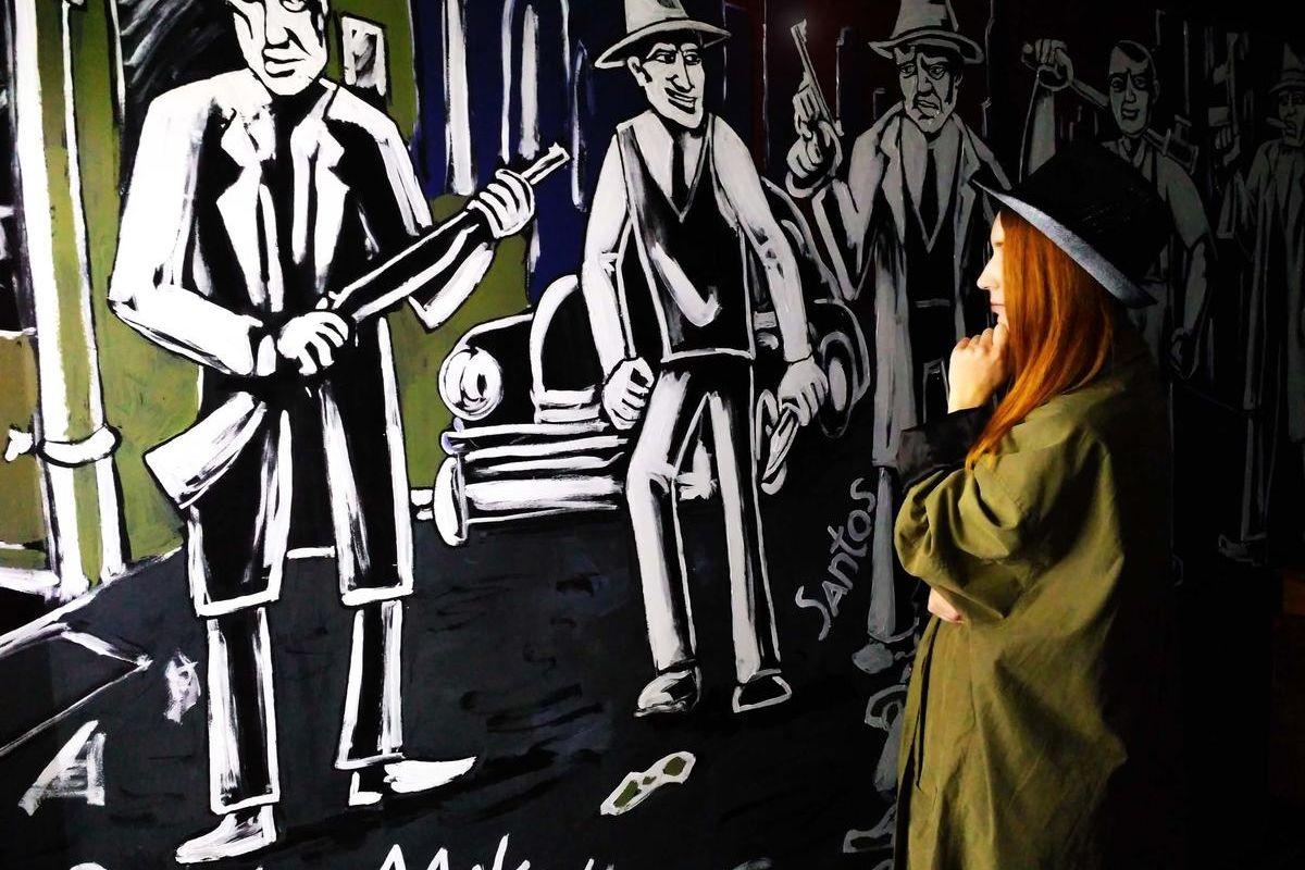 Картинка квест кімнати Тайник Робби Бакса в городе Київ