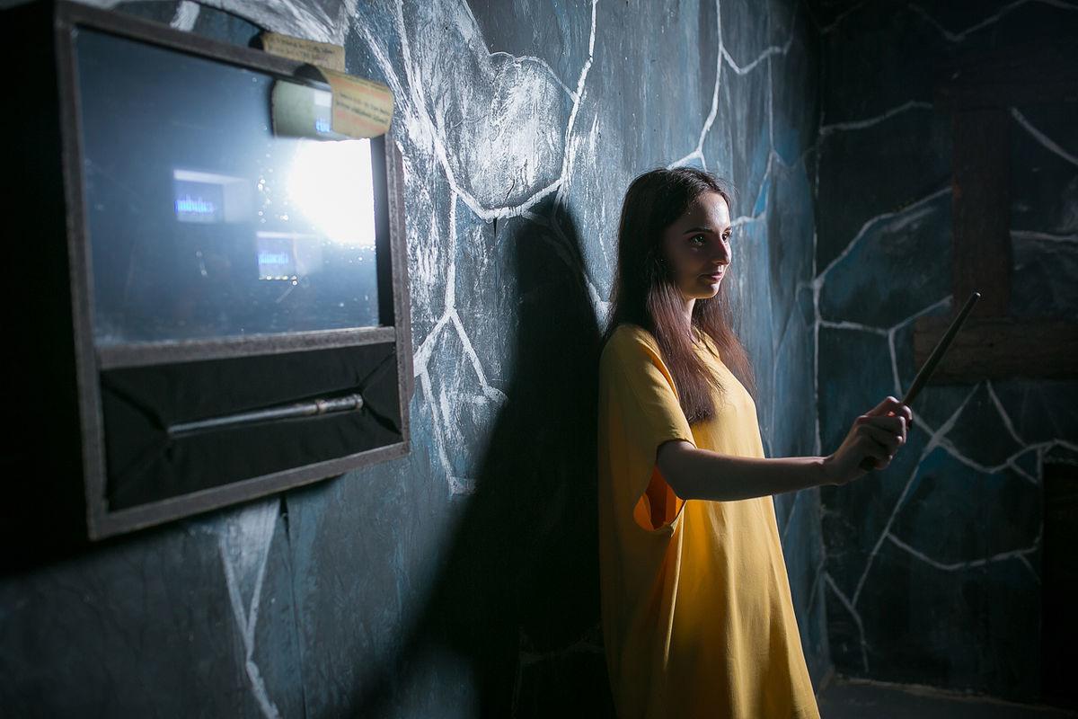 Фото квест комнаты Гарри Поттер в городе Днепр
