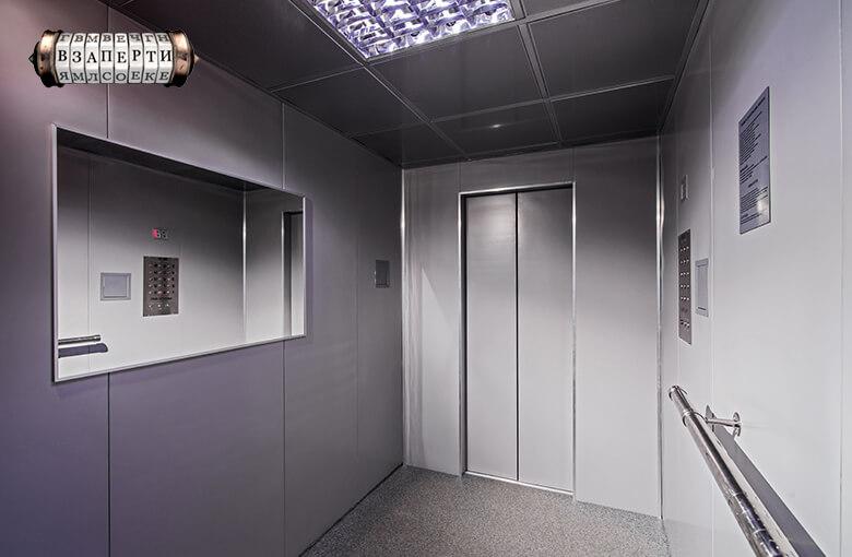 Картинка квест комнаты Лифт в городе Киев
