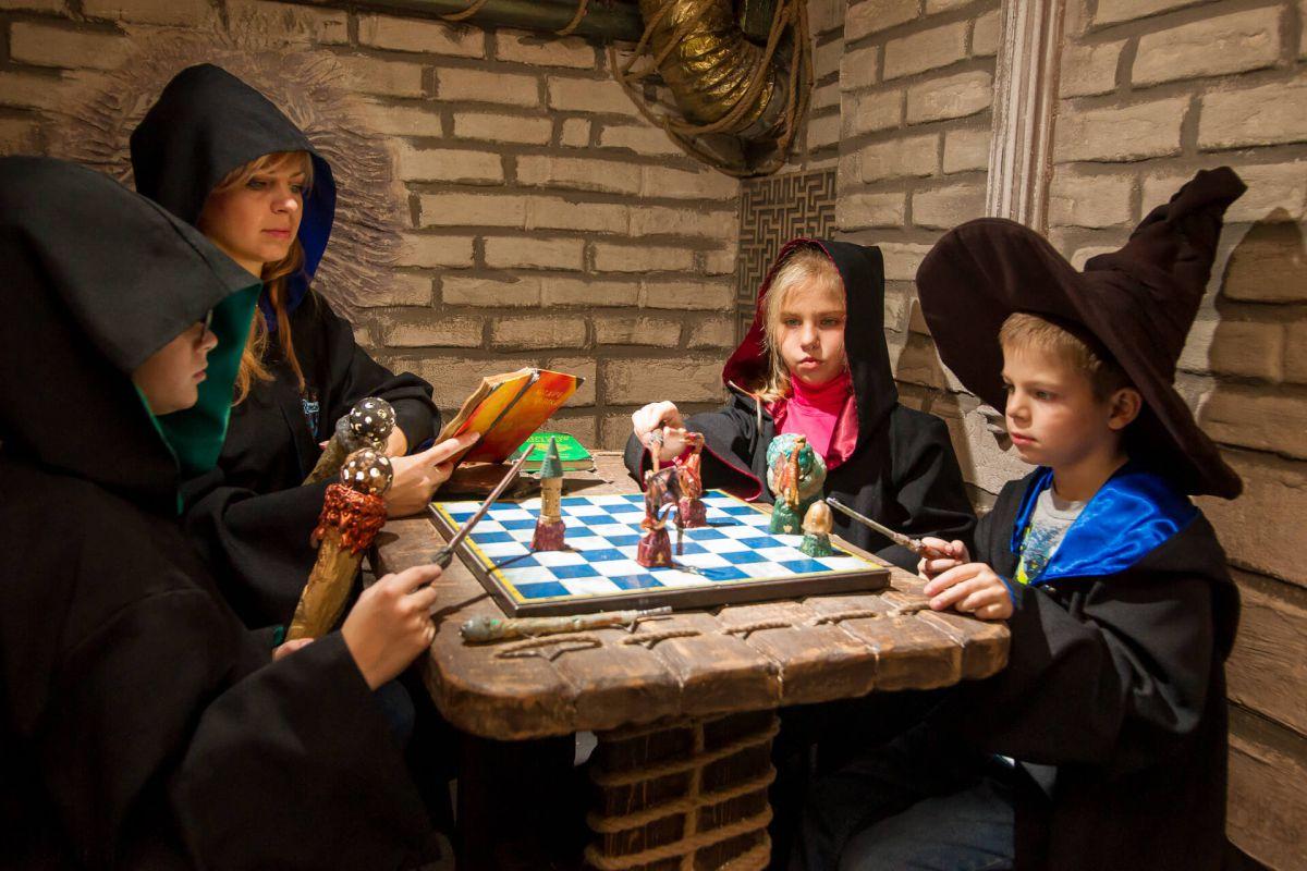 3 Фото квест кімнати Гаррі Поттер в місті Запоріжжя