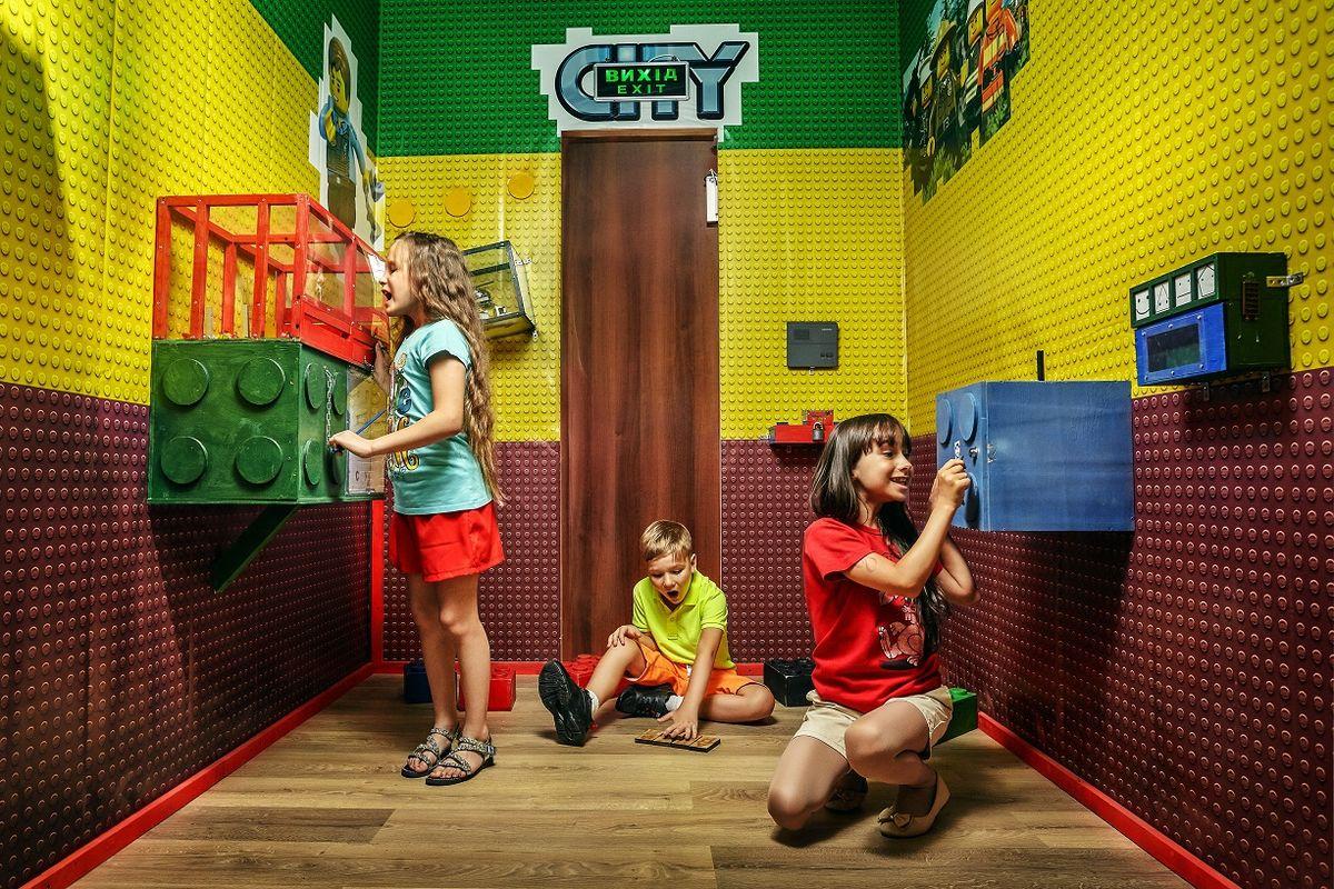 1 Фото квест комнаты Ле-го-го в городе Киев