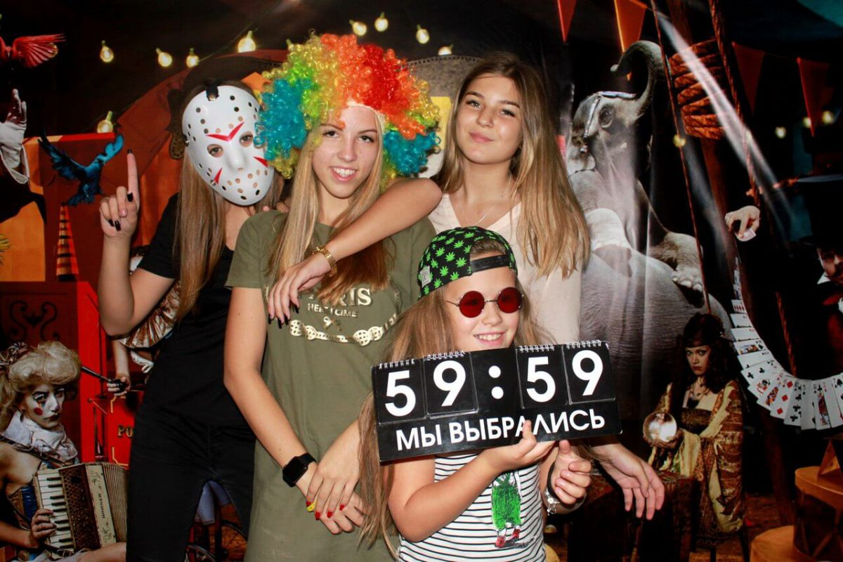 Фото квест кімнати Магія цирку в місті Одеса