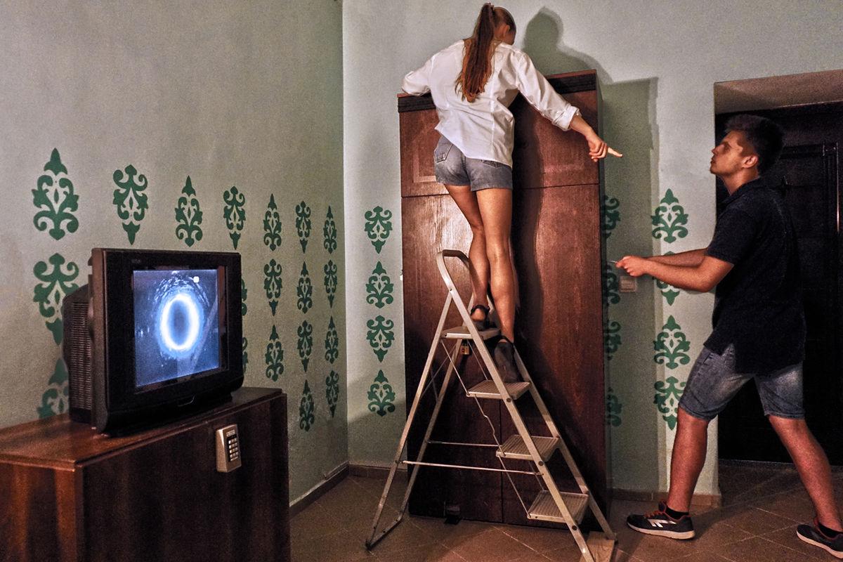 3 Фото квест комнаты Звонок. Энигма Самары Морган в городе Львов