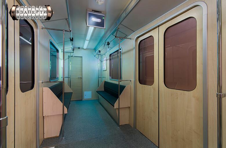 Фото квест комнаты Метро в городе Киев
