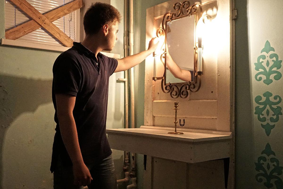 Картинка квест комнаты Звонок. Энигма Самары Морган в городе Львов