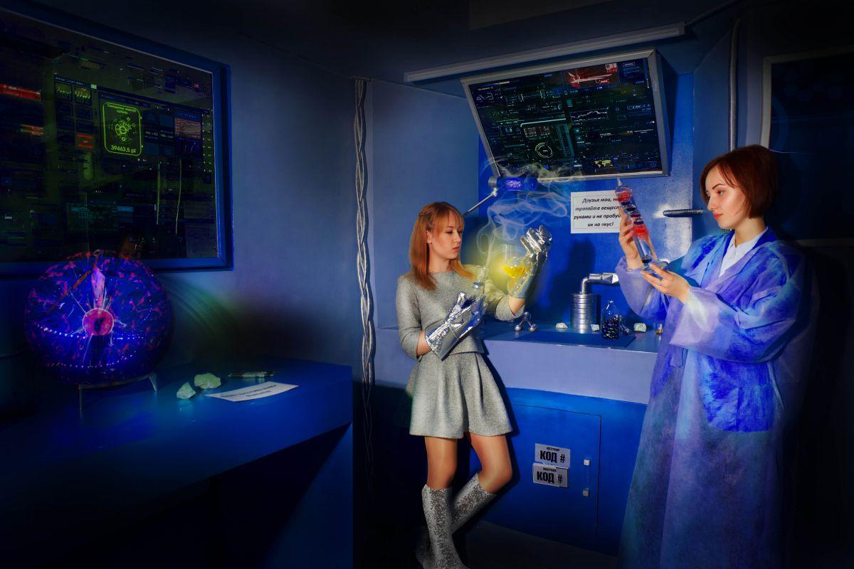 2 Фото квест кімнати Назад у майбутнє в місті Запоріжжя