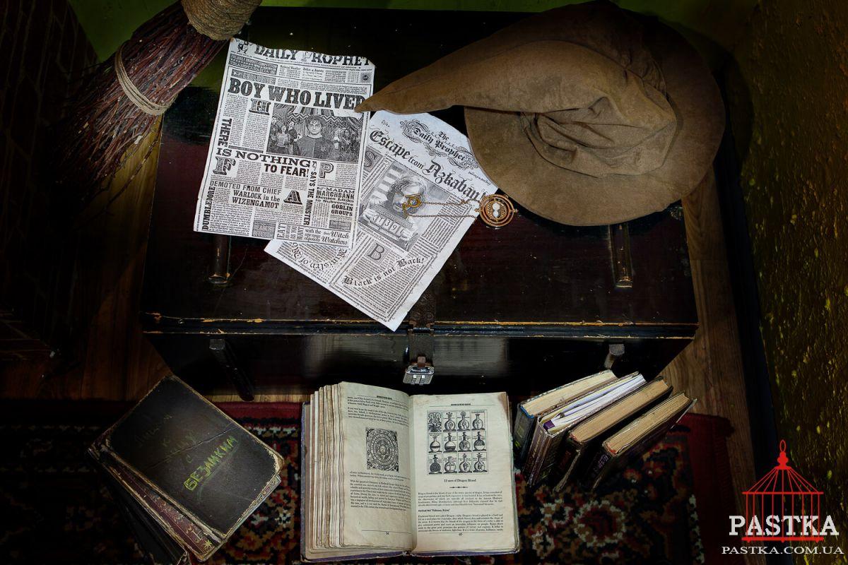 2 Фото квест комнаты Секреты Хогвартса в городе Киев