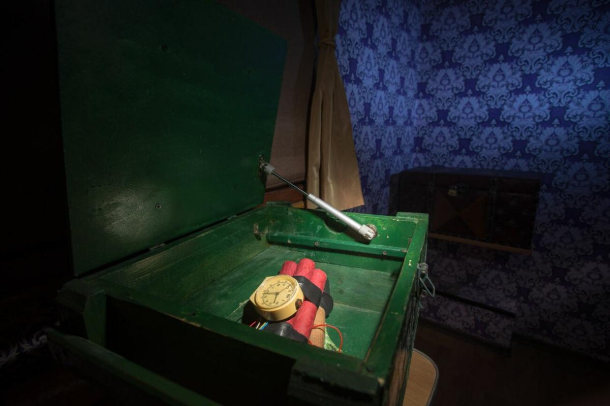 2 Фото квест комнаты Тайна скорого поезда в городе Запорожье