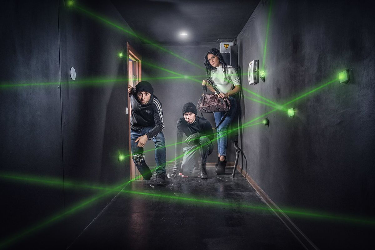 Фото квест комнаты Ограбление банка - Миссия выполнима в городе Запорожье