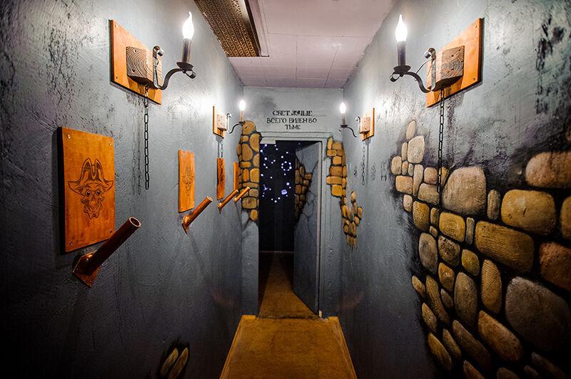 Картинка квест комнаты Пираты Карибского моря: Сундук мертвеца в городе Киев