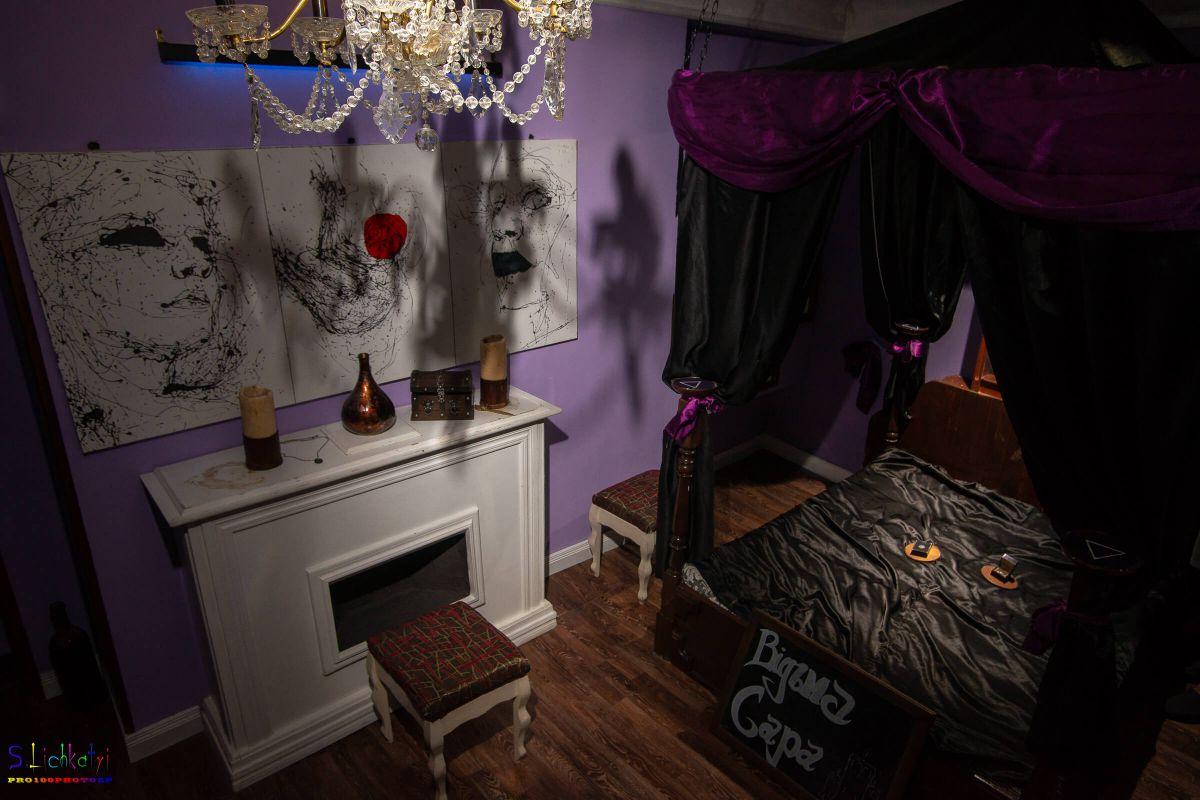 1 Фото квест комнаты Ведьма Сара в городе Запорожье