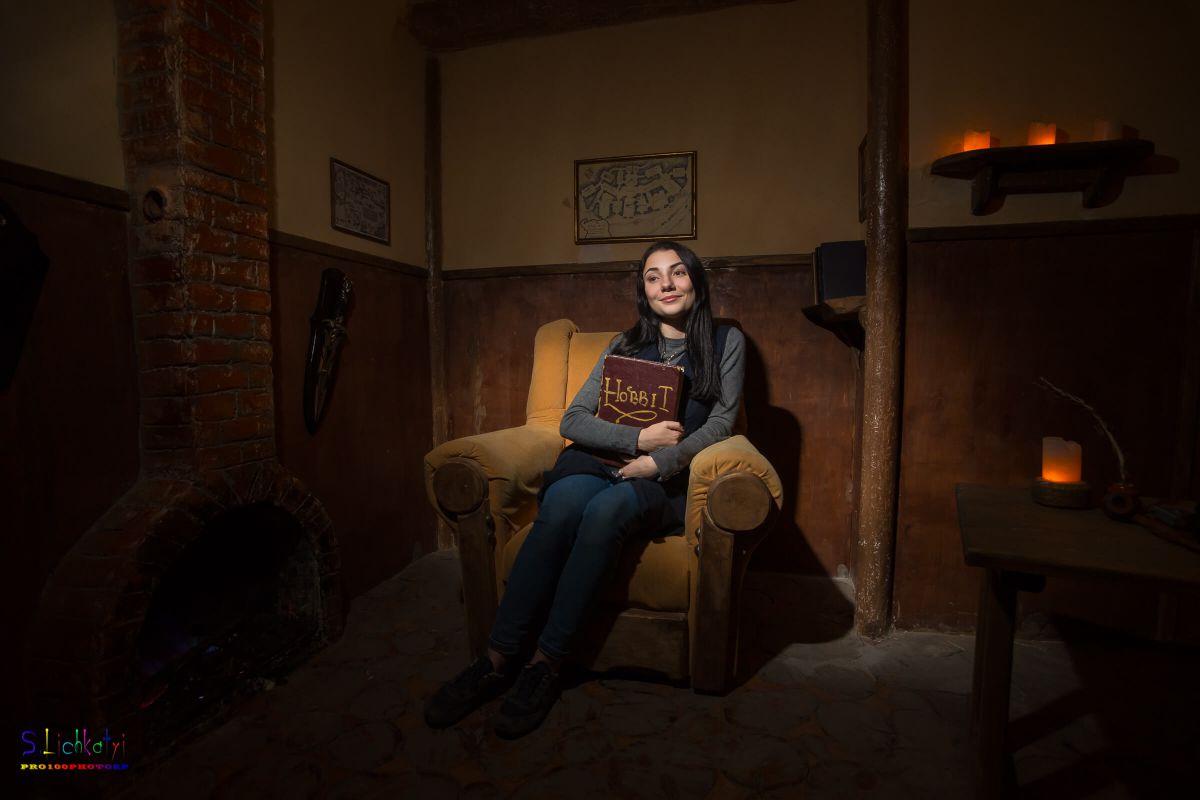 2 Фото квест кімнати Хоббит в місті Запоріжжя