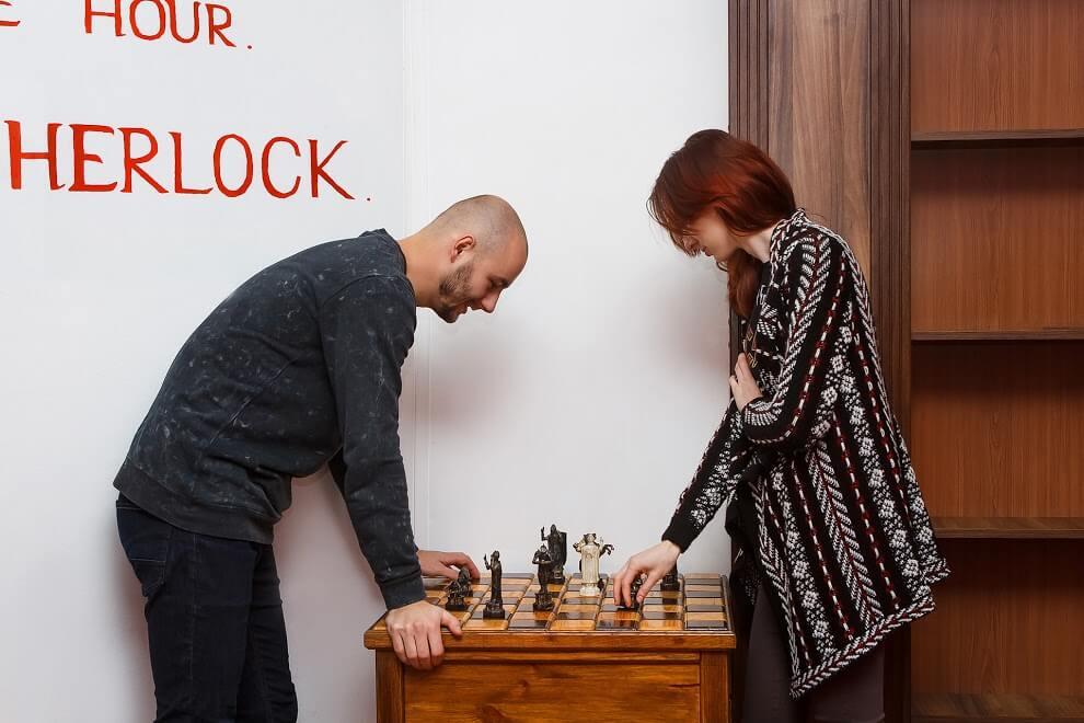 2 Фото квест комнаты Загадка Мориарти в городе Львов
