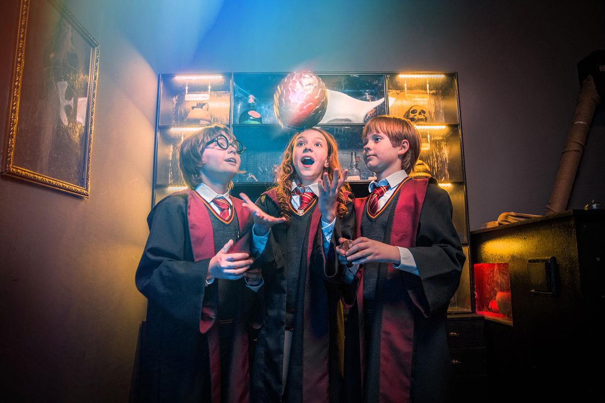 1 Фото квест комнаты Гарри Поттер в городе Киев