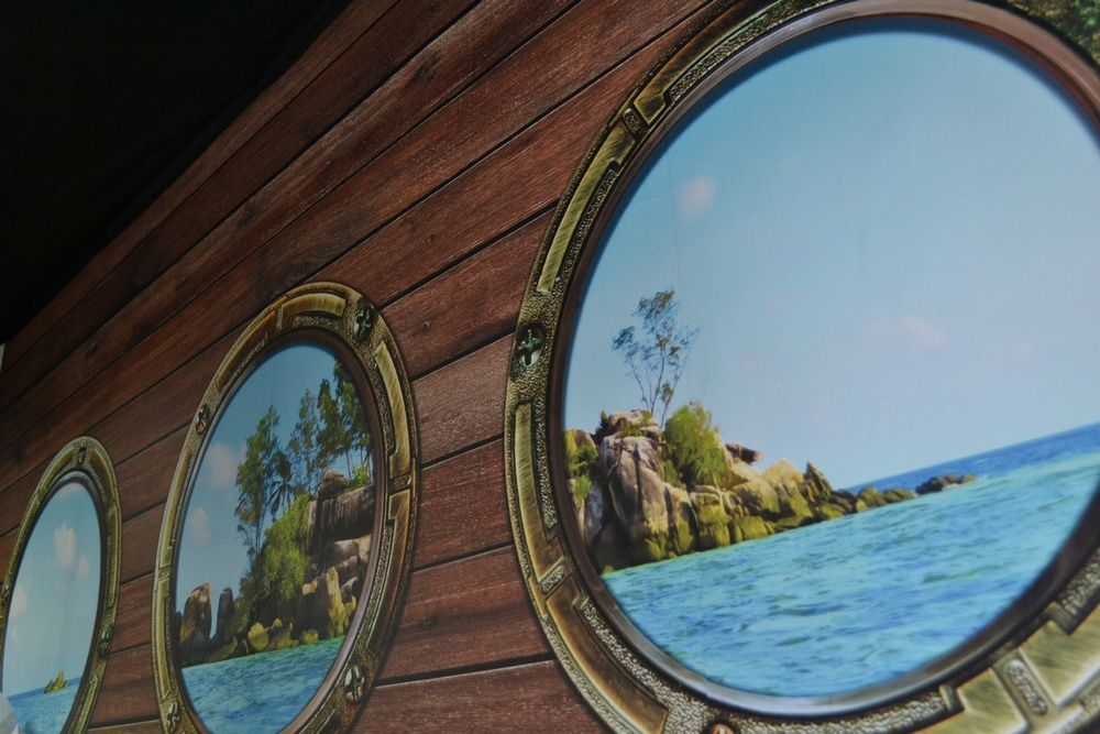 Картинка квест комнаты В ловушке Бермуд в городе Киев