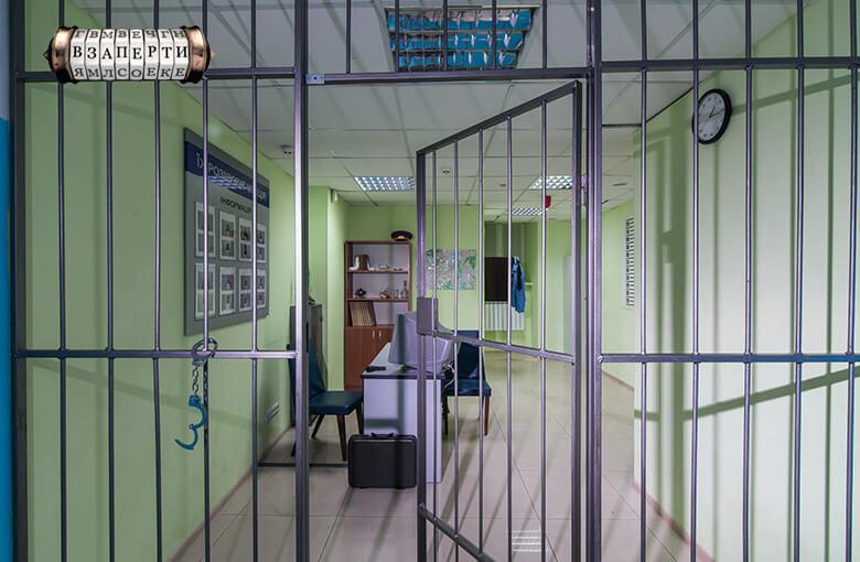 Фото квест комнаты РОВД в городе Киев