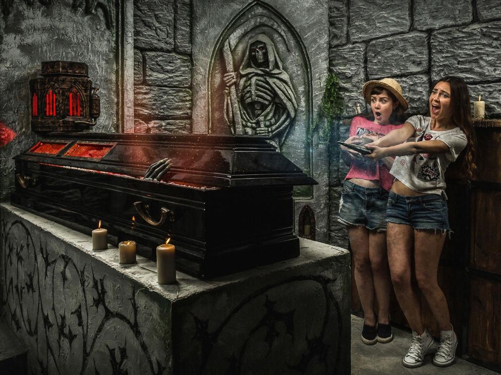Фото квест комнаты Гробница Графа Дракулы в городе Киев