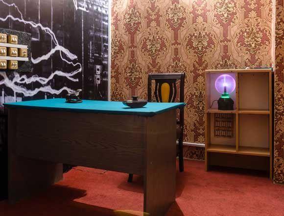 Картинка квест комнаты Опыты Тесла в городе Харьков