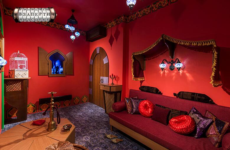 Фото квест комнаты 1001 ночь в городе Киев