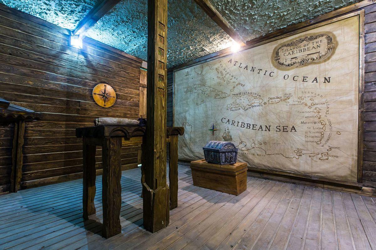 2 Фото квест комнаты Пираты карибского моря: Сундук мертвеца в городе Львов