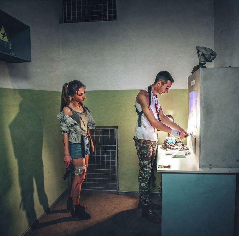 1 Фото квест комнаты Операция Z в городе Киев