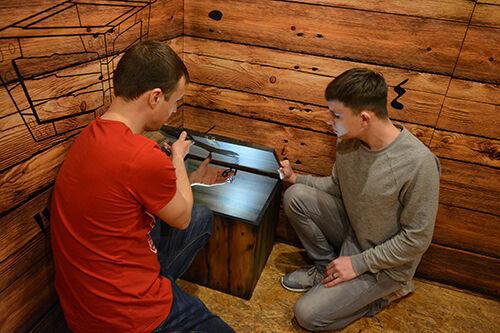 Фото квест комнаты Сокровища Ацтеков: пещера черепа в городе Киев