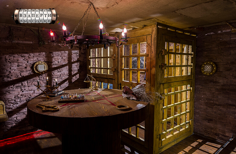 Фото квест комнаты Чернокнижник в городе Киев