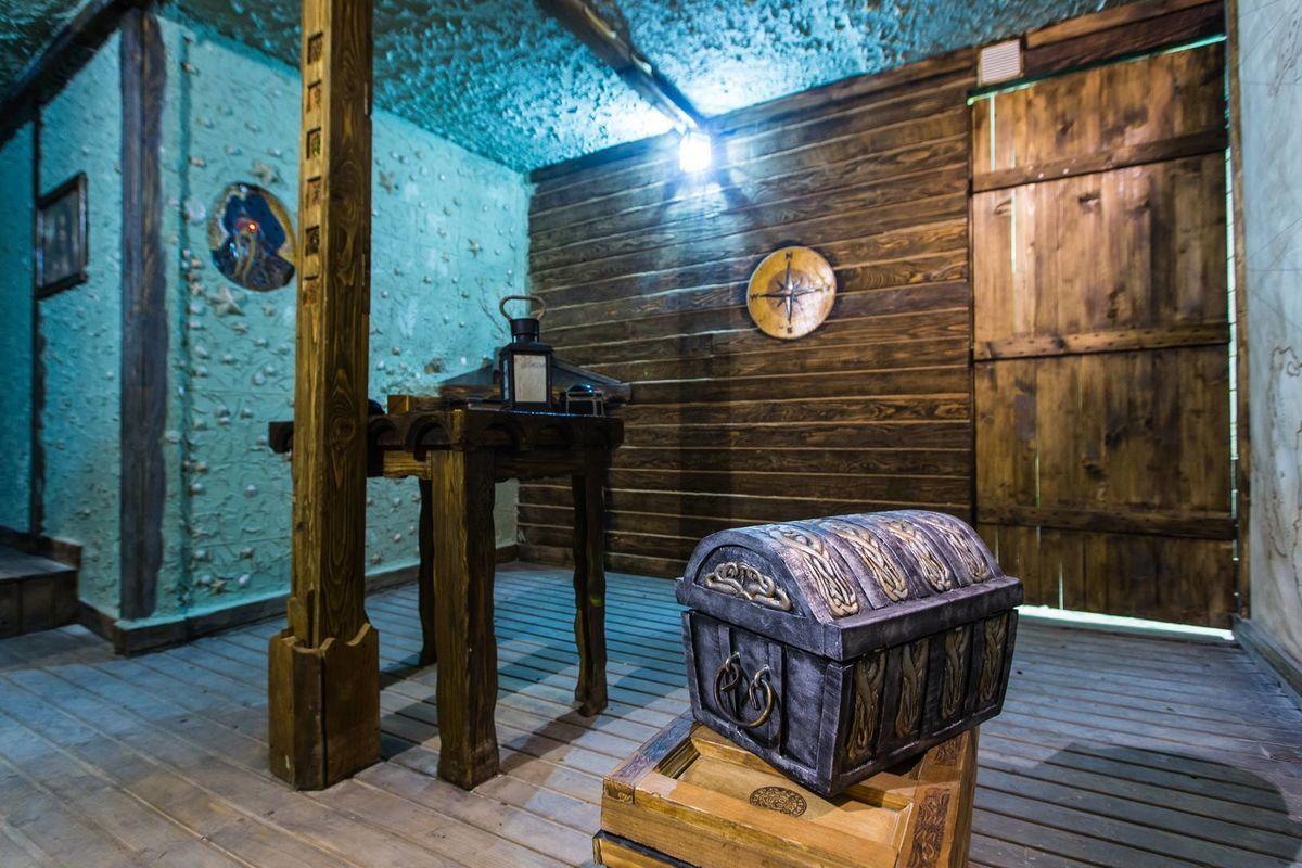 1 Фото квест комнаты Пираты карибского моря: Сундук мертвеца в городе Львов