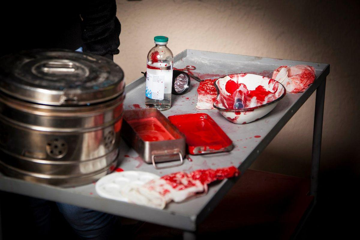 3 Фото квест кімнати Лігво маніяка в місті Запоріжжя