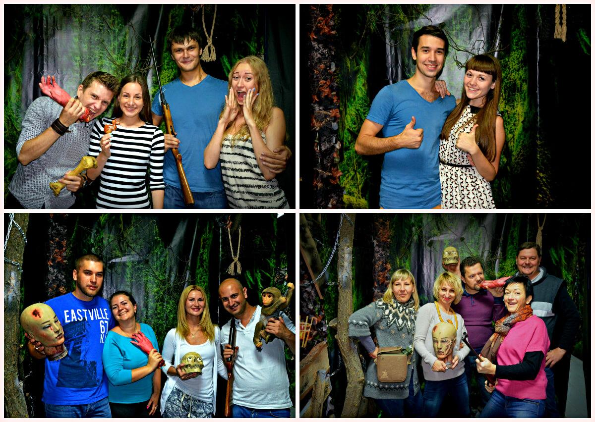 3 Фото квест кімнати Вендиго - Демон лісу в місті Дніпро