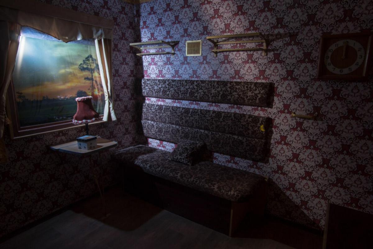 1 Фото квест комнаты Тайна скорого поезда в городе Запорожье