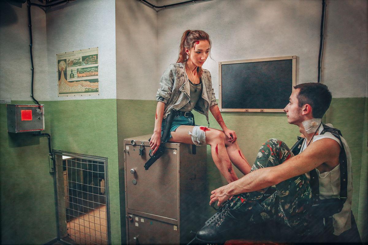 2 Фото квест комнаты Операция Z в городе Киев