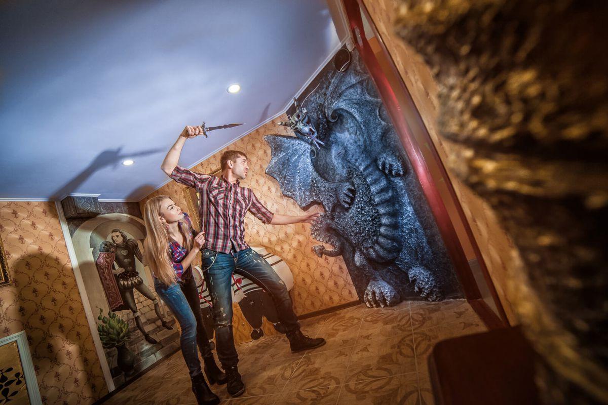 1 Фото квест комнаты Алиса в стране Чудес в городе Николаев