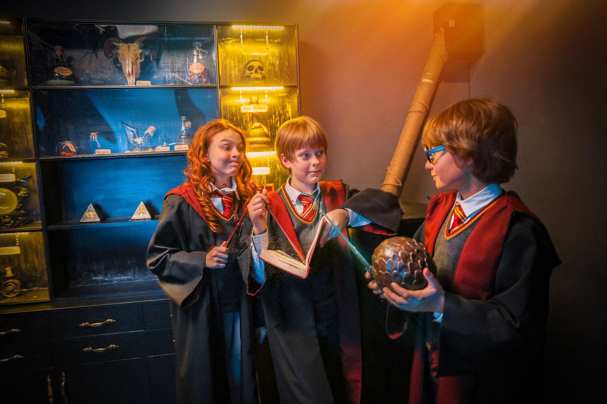 2 Фото квест комнаты Гарри Поттер в городе Киев