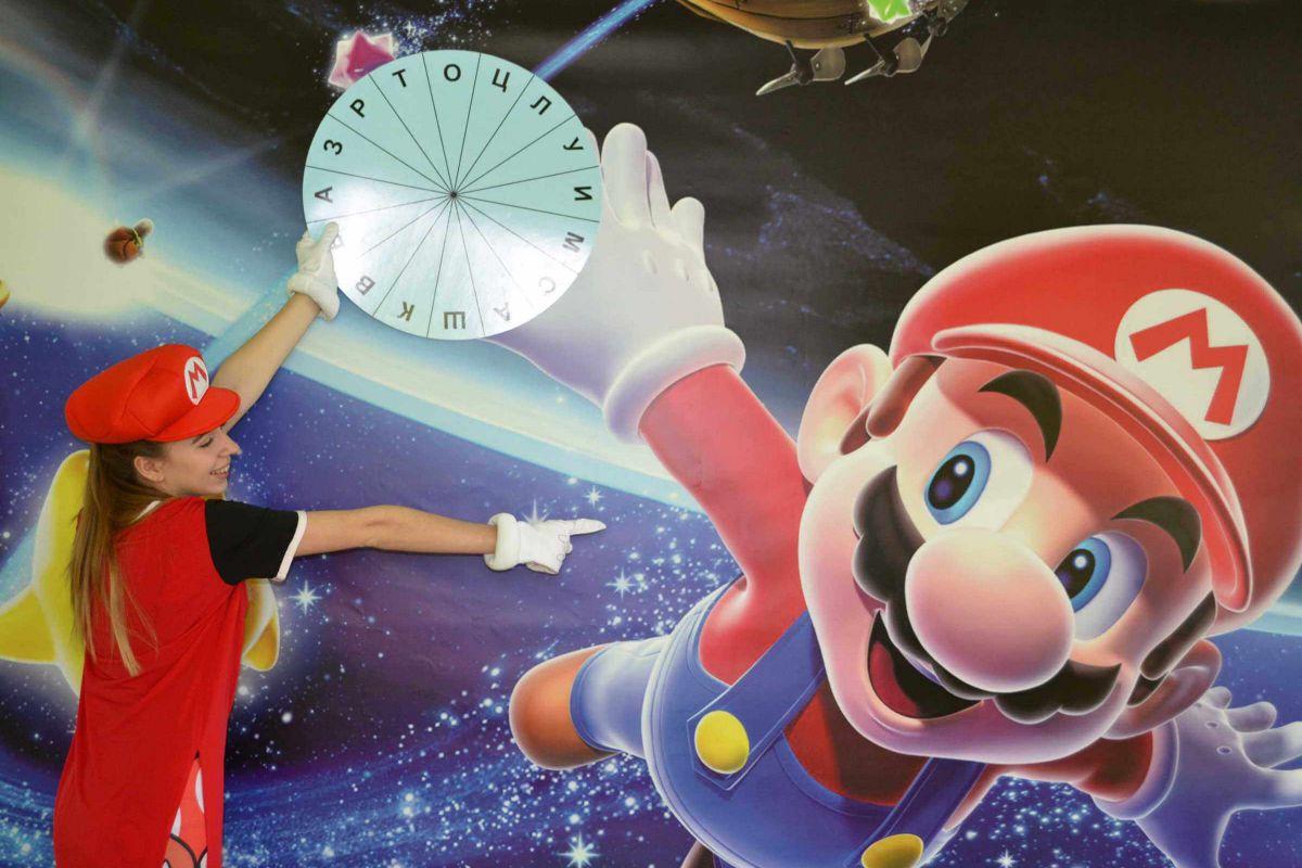 3 Фото квест комнаты Загадки Марио в городе Днепр