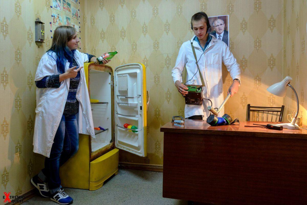 2 Фото квест комнаты Тайна Припяти в городе Харьков