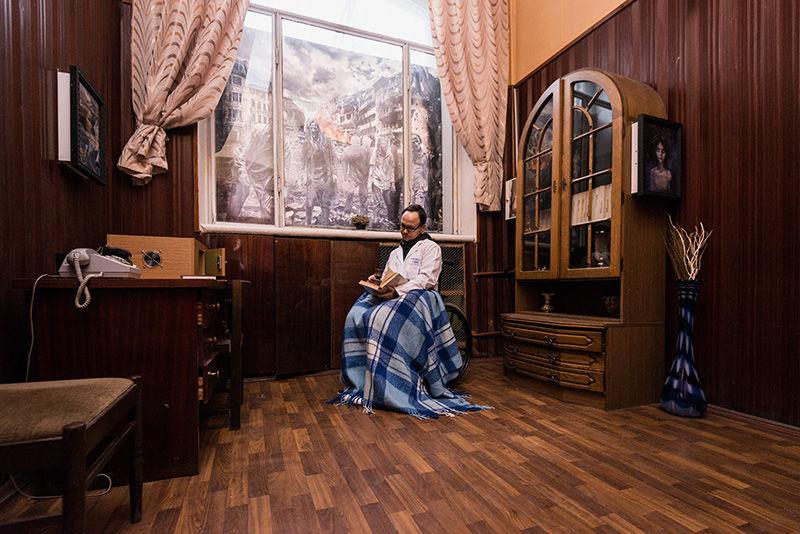 1 Фото квест комнаты Resident Evil в городе Киев