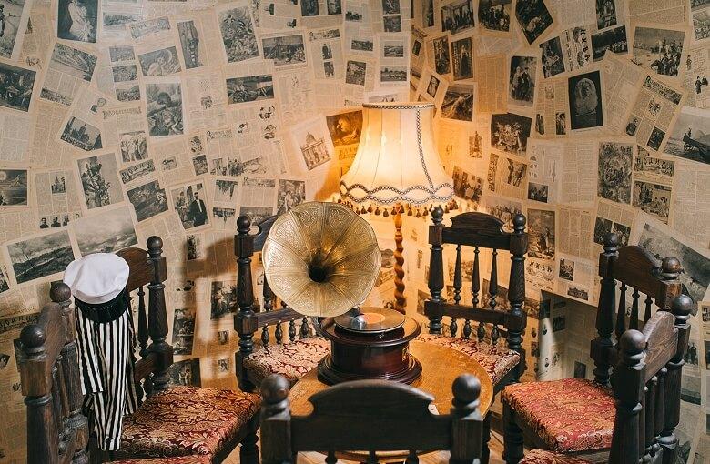 1 Фото квест комнаты 12 стульев в городе Киев