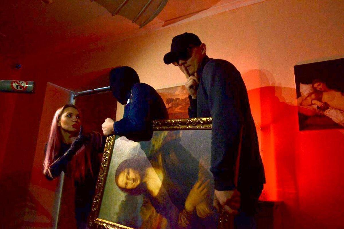 Картинка квест кімнати Змова Джоконди або Викрасти Мону Лізу в городе Одеса