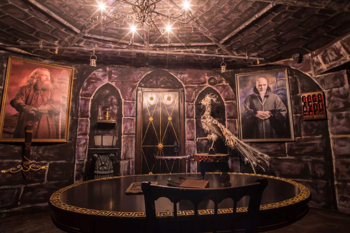 Фото квест кімнати Гаррі Поттер в місті Київ