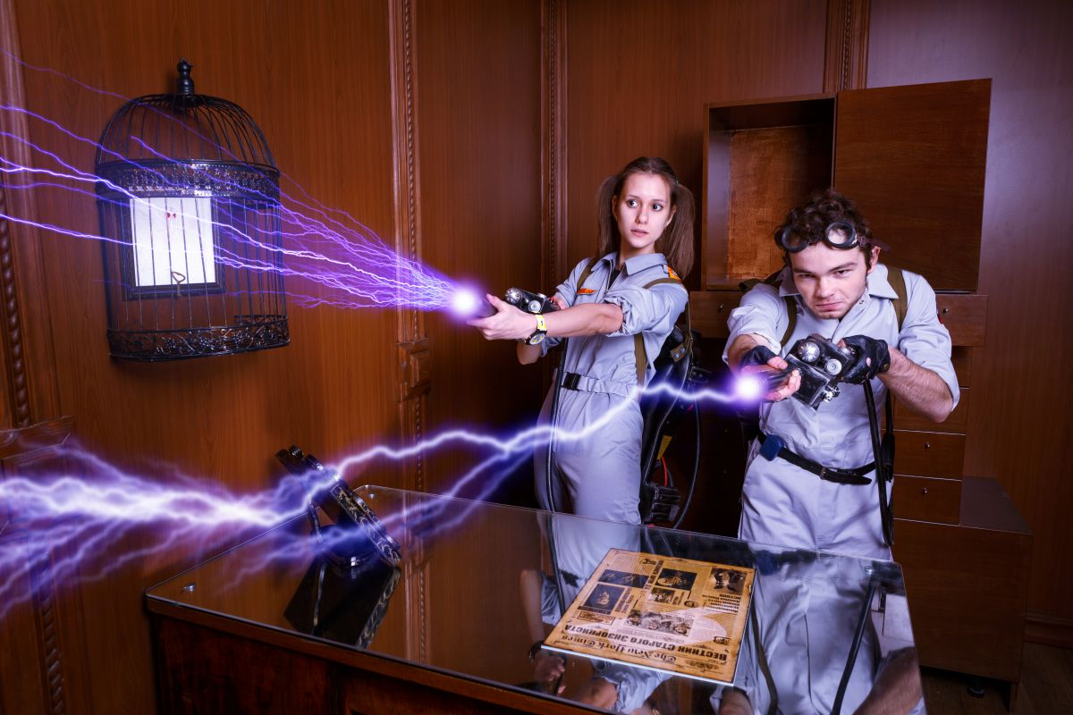 1 Фото квест комнаты Охотники за привидениями в городе Запорожье